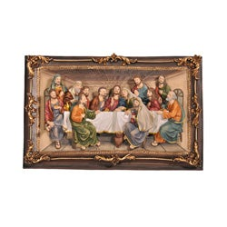 Last Supper 3-D Hanging Display