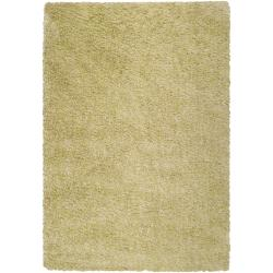 Woven Multicolored Portage Soft Shag Rug (1'10 x 2'11)