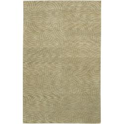 Julie Cohn Hand-Knotted Multicolored Vilas Abstract-Design Wool Area Rug (5' x 8')