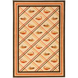 Dick Idol Meticulously Woven Lure Southwestern Lodge Bristol Rug (2' x 3')
