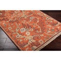 Hand-knotted Multicolored Bristol New Zealand Wool Rug (2' x 3')