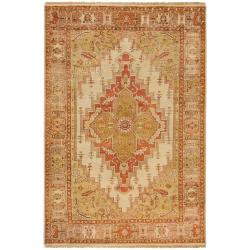 Hand-knotted Multicolored Borough Wool Rug (2' x 3')