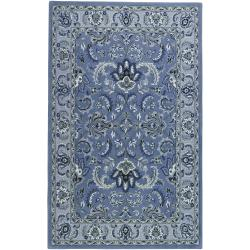 Hand-tufted Multicolored Haines Wool Rug (8' x 11')
