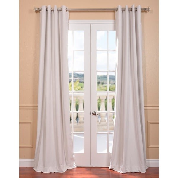 White Curtains With Grommets Mint Blackout Curtains