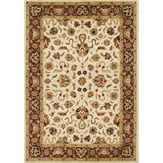 Handmade Vanilla New Zealand Wool Rug (9' x 12')