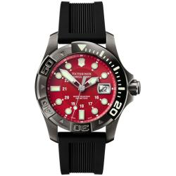 Victorinox Swiss Army Men's Dive Master 500 Red Dial Watch