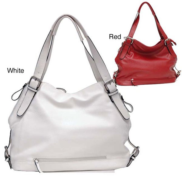 Dasein Belted Hobo Bag