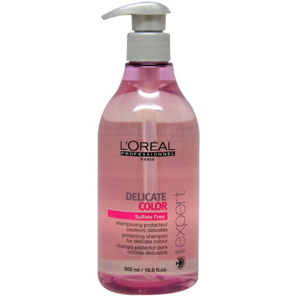 L'Oreal Serie Expert Delicate 16.9-ounce Color Shampoo