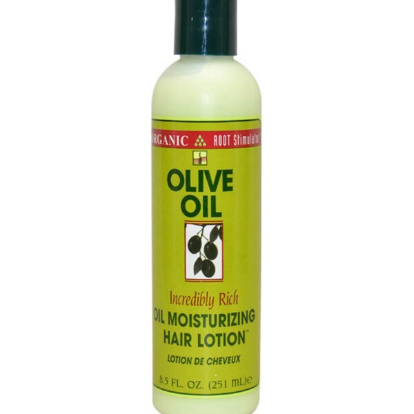 Organic Root Stimulator Olive Oil 8.5-ounce Moisturizing Hair Lotion