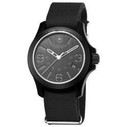 Victorinox Swiss Army Men's Original Black Dial/ Strap Watch