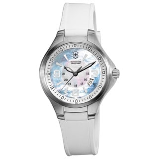 Victorinox Swiss Army Women's Base Camp Mother of Pearl Dial Watch