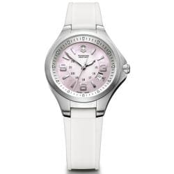 Victorinox Swiss Army Women's Base Camp Light Pink Dial Watch