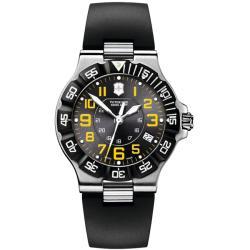 Victorinox Swiss Army Men's Summit XLT Black Dial Rubber Strap Watch