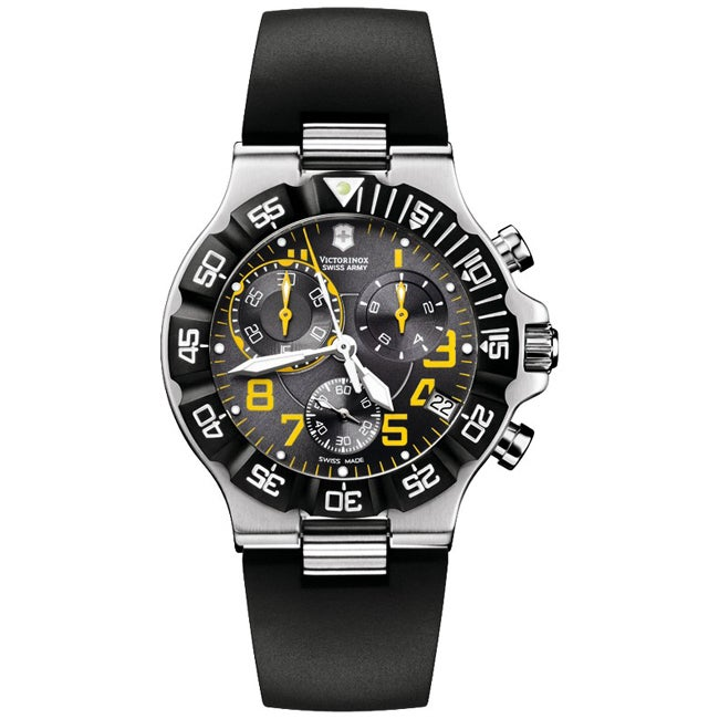 Victorinox Swiss Army Men's Summit XLT Chronograph Black Dial Watch