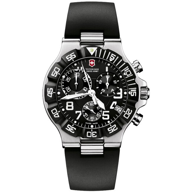 Victorinox Swiss Army Men's Summit XLT Chrono Black Dial Watch