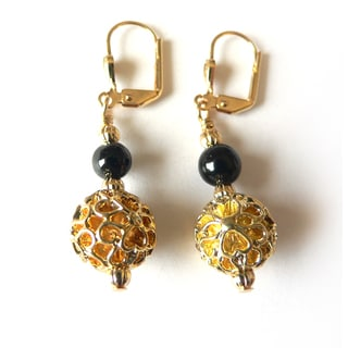 """Calista"" Filigree Earrings"