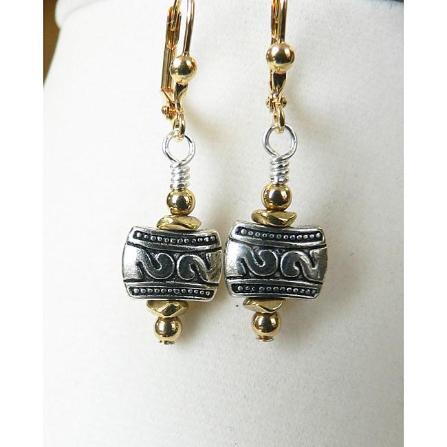 'Aasha' Metal Earrings