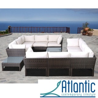 Majorca 12-piece Wicker Sectional