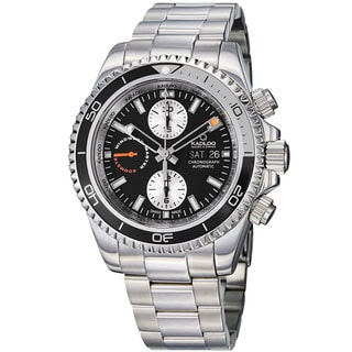 Kadloo Men's 'Windward Master' Stainless Steel Automatic Watch
