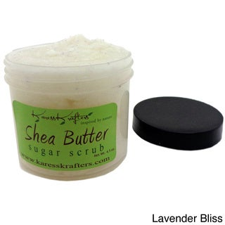 Lavender Bliss Natural Sugar Scrub (4.5 oz.)