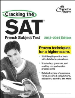 Cracking the SAT French Subject Test, 2013-2014 (Paperback)