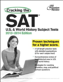 Cracking the SAT U.S. and World History Subject Tests 2013-2014 (Paperback)