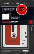 Moleskine Audio Cassette Ruled Notebook (Notebook / blank book)