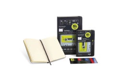 Moleskine Audio Cassette Black Plain Large Notebook (Notebook / blank book)
