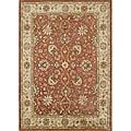 Alliyah Hand-Made 100 Percent Rust New Zeland Persian Wool Rug (9' x 12')