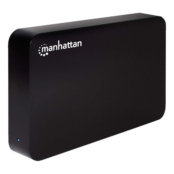"Manhattan Hi-Speed USB, SATA, 3.5"" Drive Enclosure, Black"