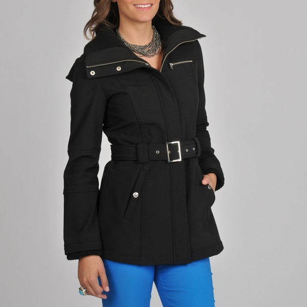 Miss Sixty Women's Black Belted Active Jacket