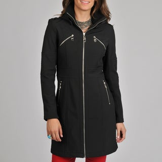Miss Sixty Women's Black Long Jacket