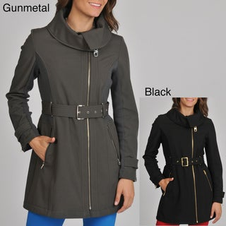 Miss Sixty Women's Asymmetrical Zip Active Jacket