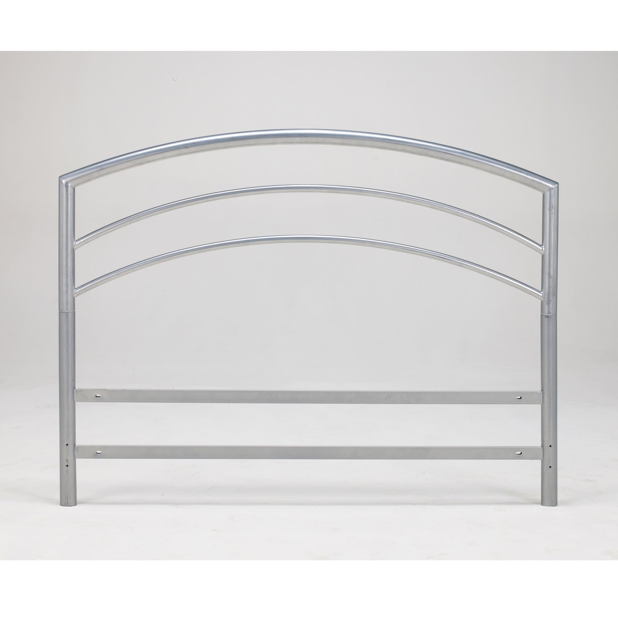 Arch Flex Twin-size Silver Metal Headboard