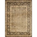 Pembrooke Wheat / Brown Rug (9'8 x 12'8)