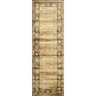 Pembrooke Wheat / Brown Rug (2'6 x 7'9)