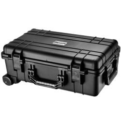 Loaded Gear HD-500 Watertight Black Plastic Hard Case with Foam Liner