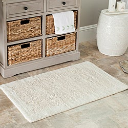 Safavieh Spa 2400 Gram Serenity Natural 27 x 45 Bath Rugs (Set of 2)