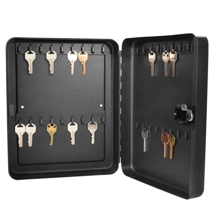 Barska 36-position Black Steel Key Cabinet Safe with Combination Lock