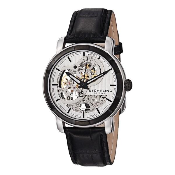 Stuhrling Original Men's Automatic Skeleton Watch