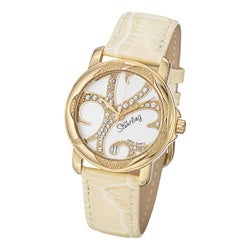 Stuhrling Original Women's Isis Gold-tone Crystal Watch