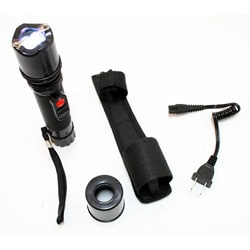 3500 KV Flashlight Style Stun Gun with Led Light