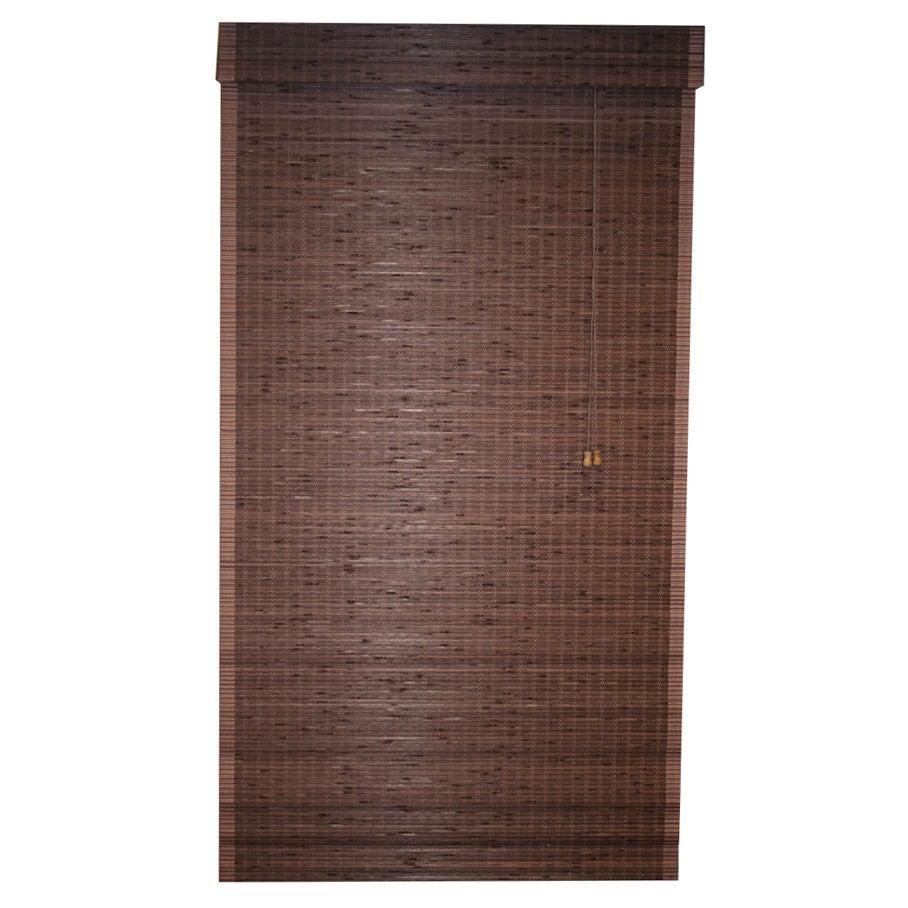 Cyprus Bamboo Cocoa Roman Shade
