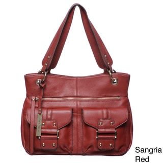 Franco Sarto Romy Leather Tote Bag