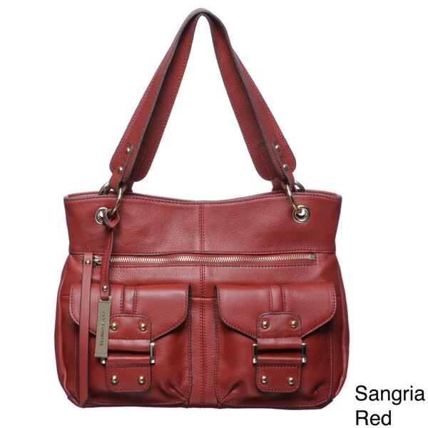 Franco Sarto Romy Leather Tote Bag