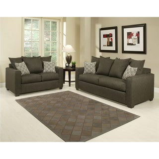 Furniture of America Barbado Contemporary 2-piece Sofa Set