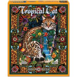 Tropical Cat 1000-piece Jigsaw Puzzle