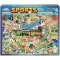Baseball 1000-piece Jigsaw Puzzle