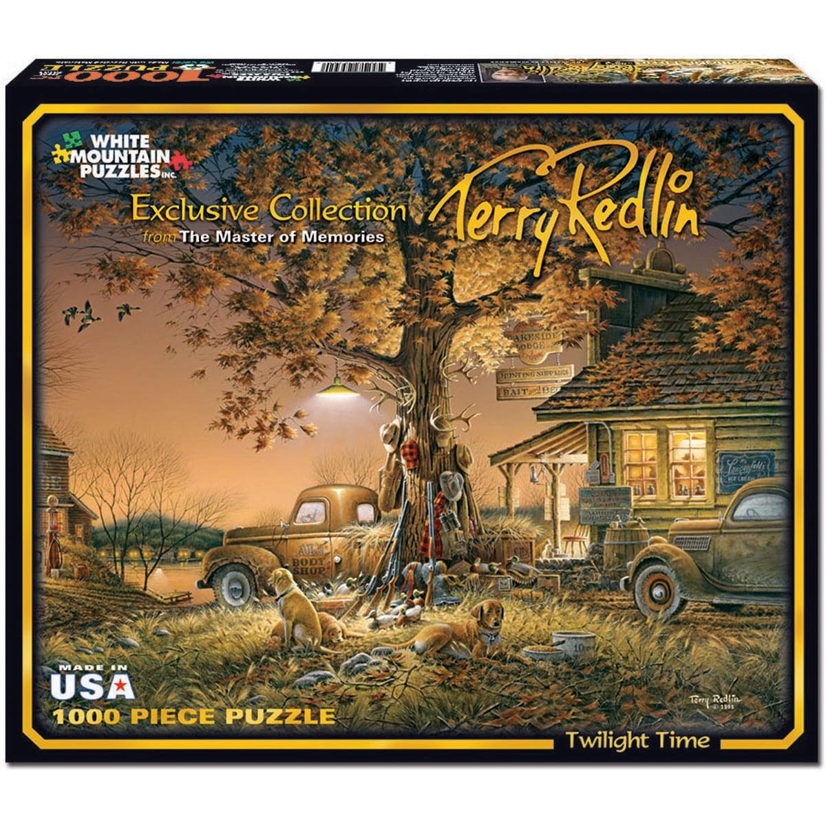 Terry Redlin Twilight 1000-piece Jigsaw Puzzle