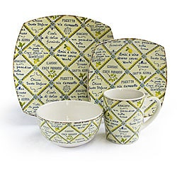 Waverly Piastrelle 16-piece Dinner Set
